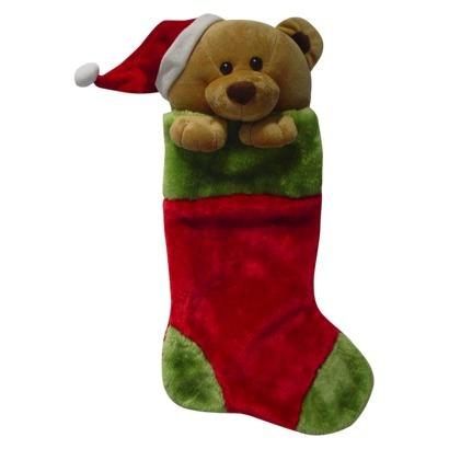 Plush Animal Stocking Bear Teddy Bear Parade