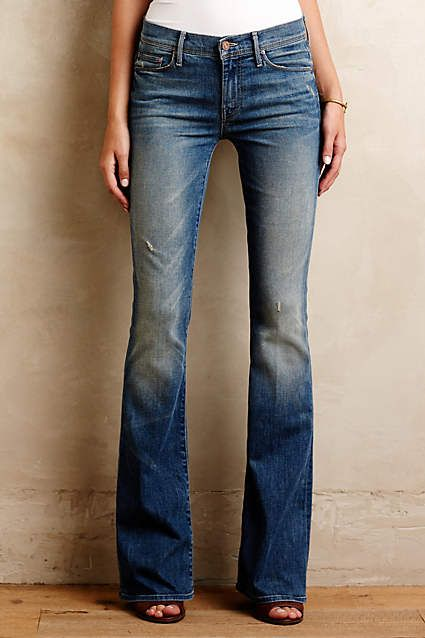 Mother Cruiser Flare Jeans - anthropologie.com