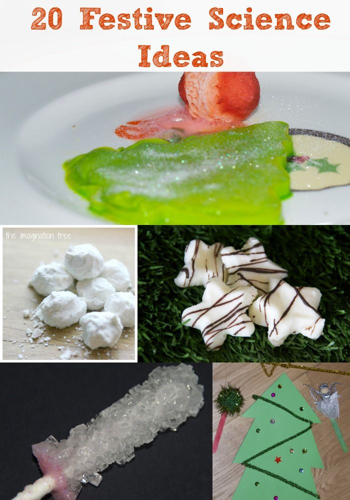 Christmas Science Ideas for kids, including candy cane goo, Christmas tree goo, pretty flowers, cloud dough and much more #Science