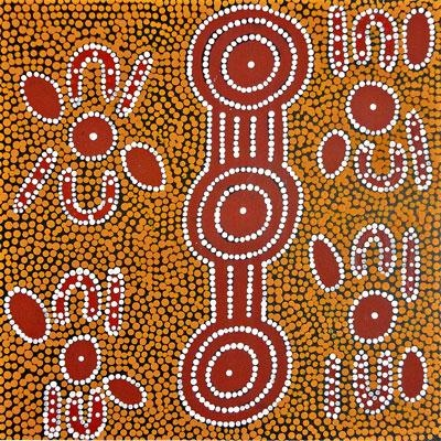 95 best images about Aboriginal dot painting on Pinterest