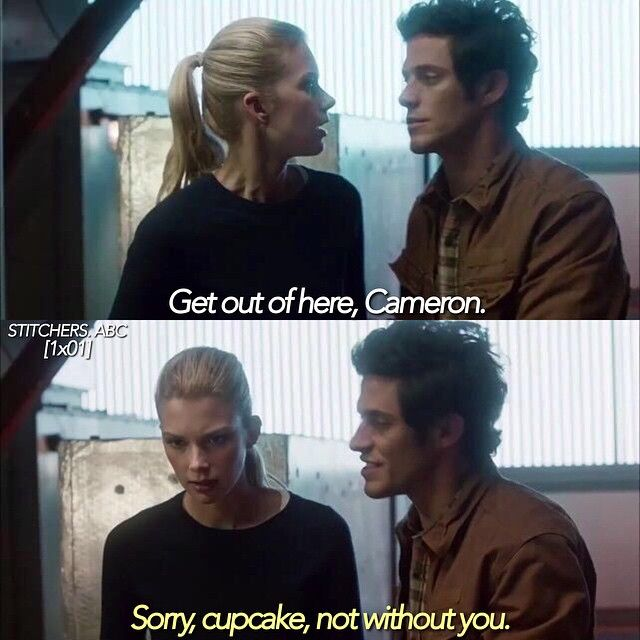 A Stitch in Time- Cameron always has nicknames for Kirsten like cupcake