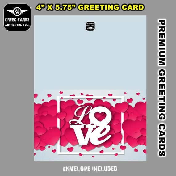 Valentines Day Premium Greeting Card Triple Layer With Laminate Coating 5 25 5 5 Inches High By 4 4 25 Inches Wide Cards Greeting Cards Stickers Custom