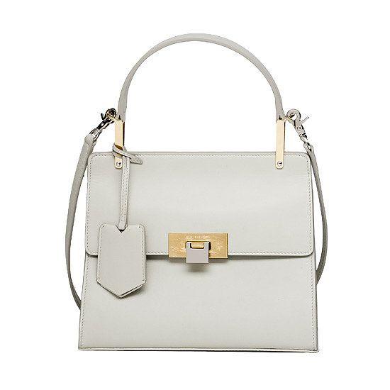 The perfect little white bag, courtesy of Balenciaga and Alexander Wang