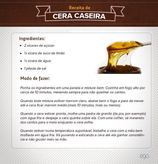 Cera de açúcar é alternativa natural e eficaz para depilação caseira