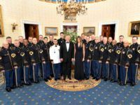 Donald and Melania Trump Skip the Oscars to Honor Military, Governors at Governor's Ball