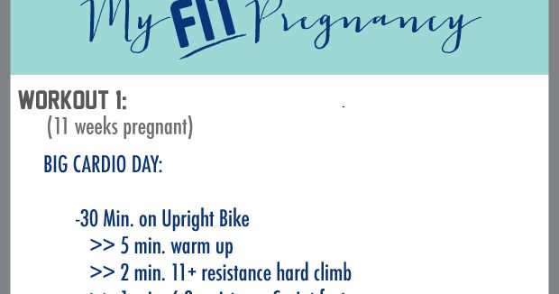 Ramblings by Allie: Fit Pregnancy : Workout 1