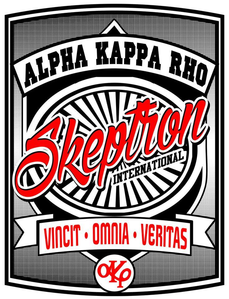 alpha kappa rho: all akp logo and tarpaulin..