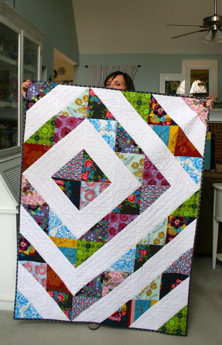 mmmcrafts: look, I made a quilt!