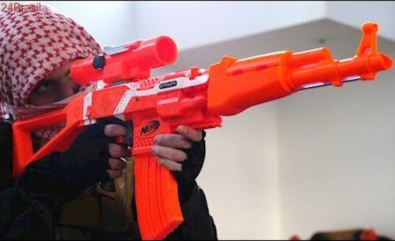 NERF AK-47 BATTLE MOD
