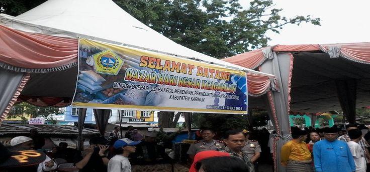 Pembukaan Bazar Ramadhan 1437 H Dan Pemberian Paket Sembako Gratis