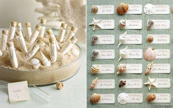 Listas de Invitados en las bodas marineras – Ideas para colocar y presentar el protocolo de invitados