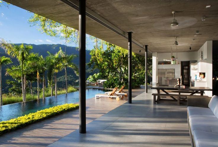 Alberto Burckhard   Carolina Echeverri Design a Tropical Home in Girardot, Colombia