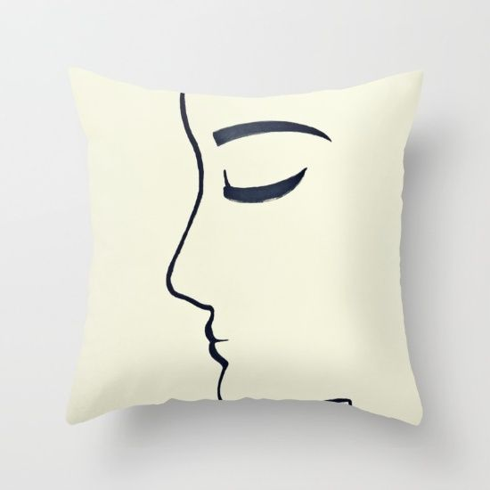 Her Throw Pillow