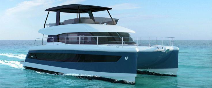 Power catamaran MY 44 - Fountaine Pajot