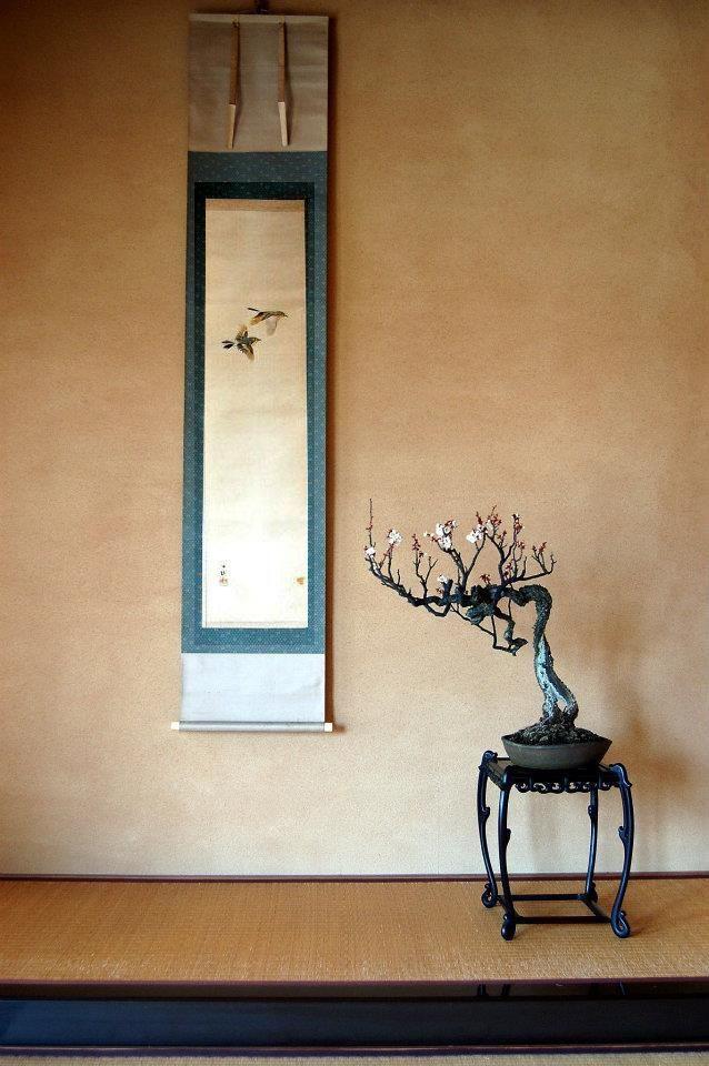 Japanese room design Tokonoma (床の間)