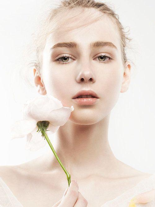 Kristina Miniaylo by Zhang Jingna | #beauty #makeup #skincare #model  #flowers