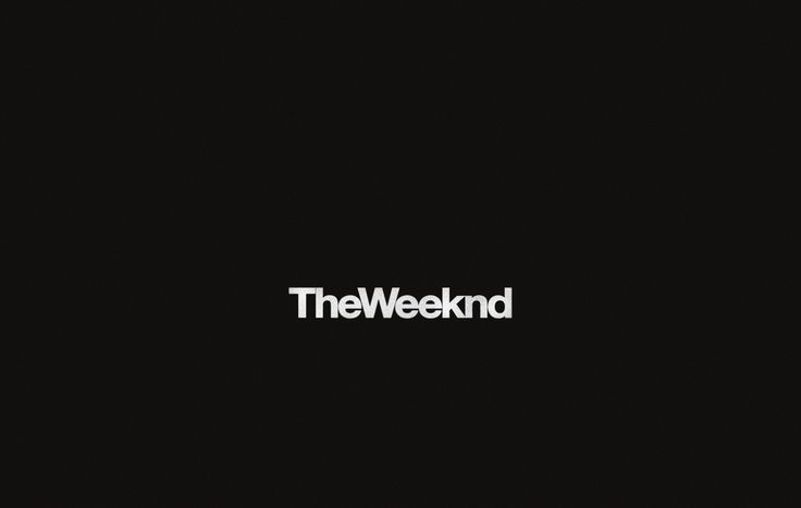 The Weeknd....i cannot WAIT for this freaking album to come out.