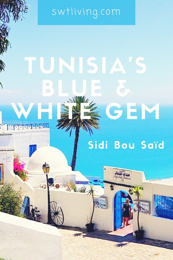 What if I told you there is a town that combines the characteristics of Santorini and Chaouen? And yes, such a town really exists! Sidi Bou Saïd, Tunisia is one of the most picturesque places I've been to.