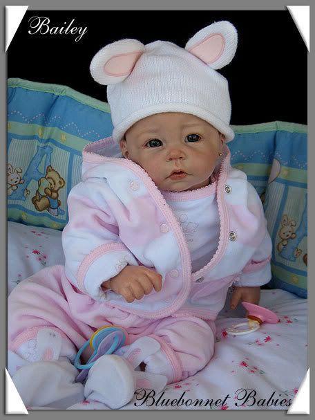 Home Bluebonnet Baby Reborn Nursery Little Doll
