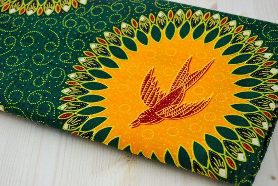 African Fabric per Yard Ankara Fabric African Wax by SuomiiFabrics