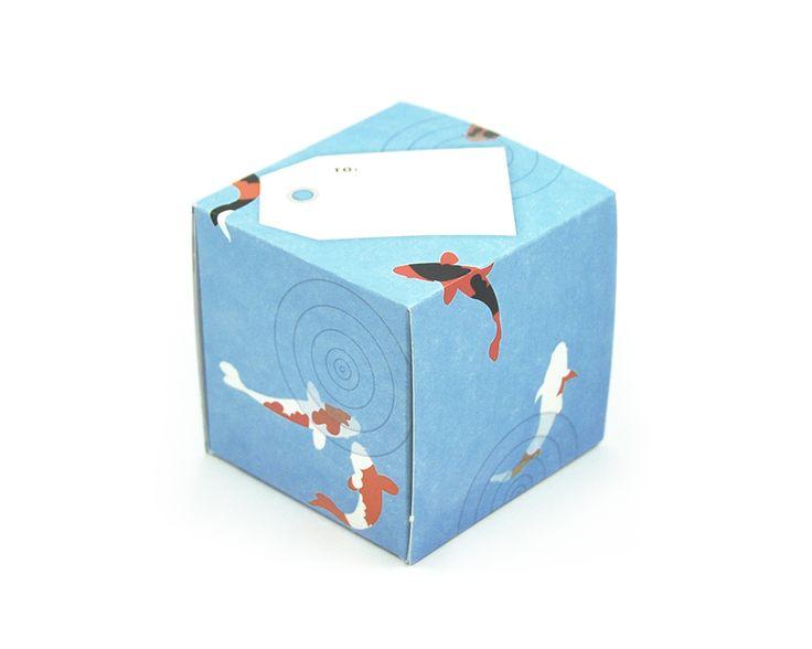 greetabl Koi Pond greeting card and gift box, (http://www.kamidori.com.au/koi-pond/)