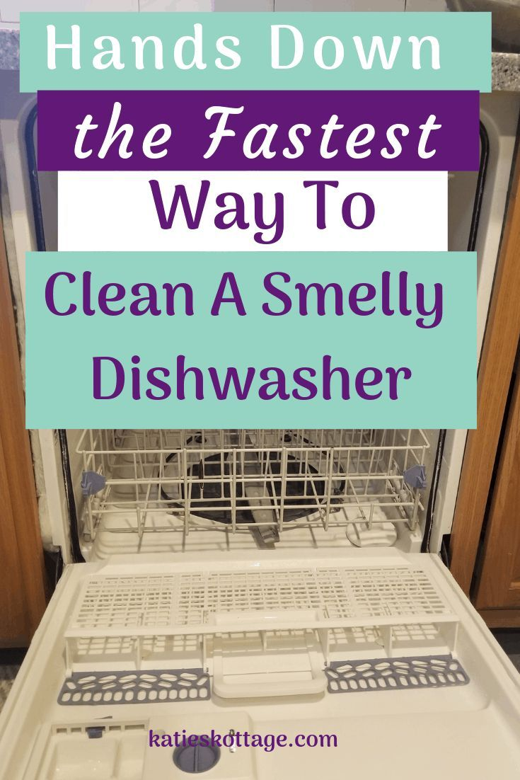 Clean A Dishwasher The Easy Way Cleaning Your Dishwasher Clean Dishwasher Dishwasher Cleaner