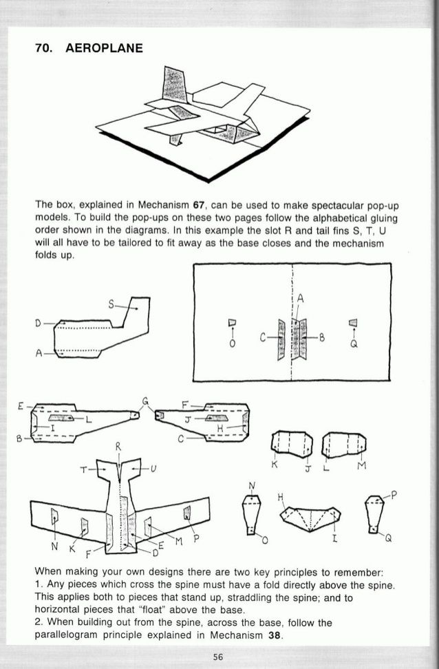 Pop up! a manual of paper mechanisms - duncan birmingham (tarquin books) [popup, papercraft, paper engineering, movable bo...