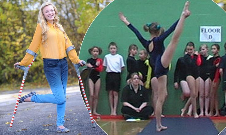 Teenager with rare condition that makes her hips dislocate five times a day defies the odds to become a catwalk model