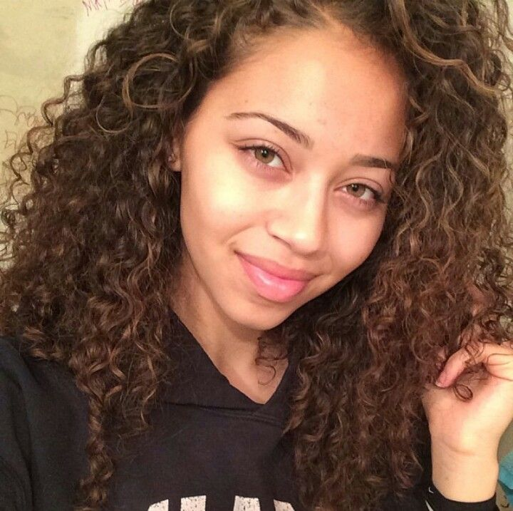Dem Curls Doe Gt No Makeup No Makeup Pinterest Makeup