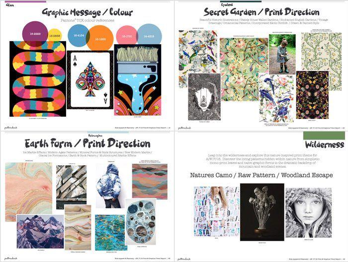 Kidswear Stationery Print Graphic Trend Report