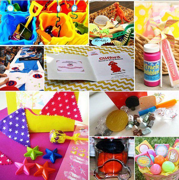 25 Kids Loot Bag Party Favor Ideas