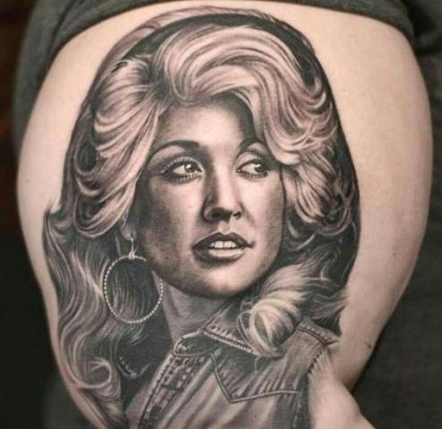 5 Dolly Parton Tattoos