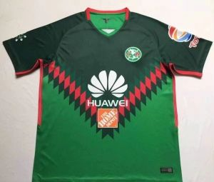 c21bfff0c 2017-18 Cheap Jersey Club America 4th Replica Green Shirt  CFC1 ...