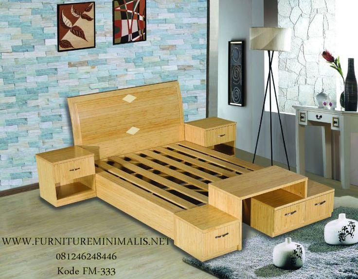 Kamar Tidur Utama Minimalis Jati Modern | Set Kamar Mewah Minimalis - Furniture Minimalis Jepara