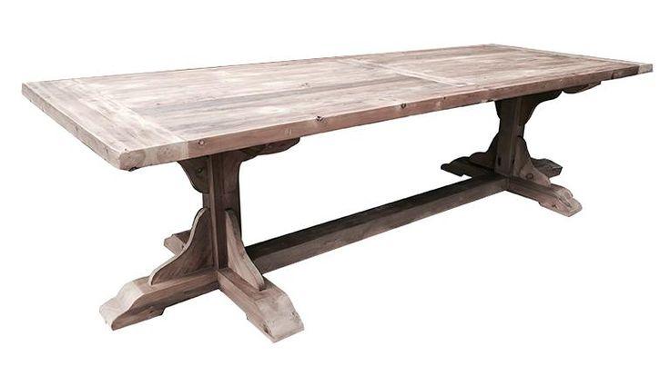 table monastere bois massif pieds bois hatvan mobiliermoss
