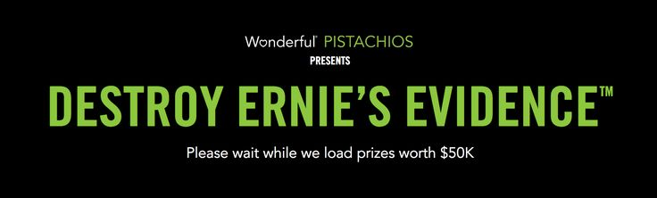 Win a 2017 Jeep Wrangler on Wonderful Pistachios - Destroy Ernie's Evidence Sweepstakes