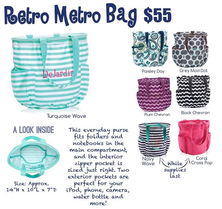 Retro Metro bag spring/summer 2015 http://www.mythirtyone.com/kristenburnham