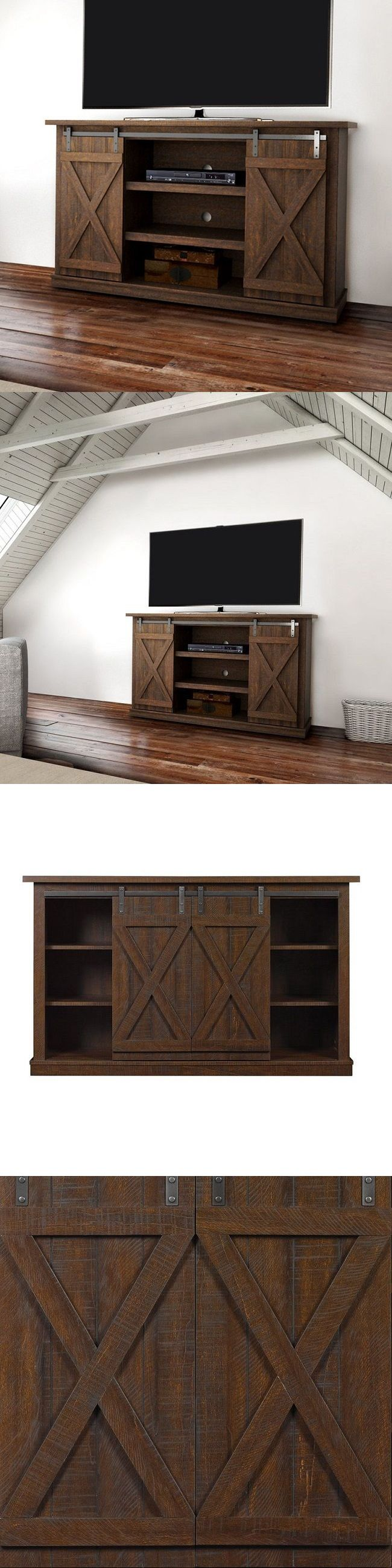Home shop live tv stands chunky stretch tv stand - Entertainment Units Tv Stands 20488 Rustic Tv Stand Entertainment Center Console Wood Living Room Furniture