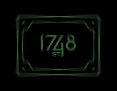 """Check out new work on my @Behance portfolio: """"1748 ST (Stoner Metal Band) Logo"""" http://be.net/gallery/52090625/1748-ST-(Stoner-Metal-Band)-Logo"""