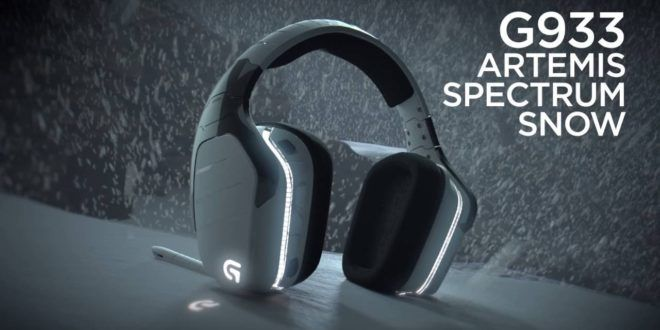 Look out for the Logitech G933 Artemis Spectrum Snow @ rAge
