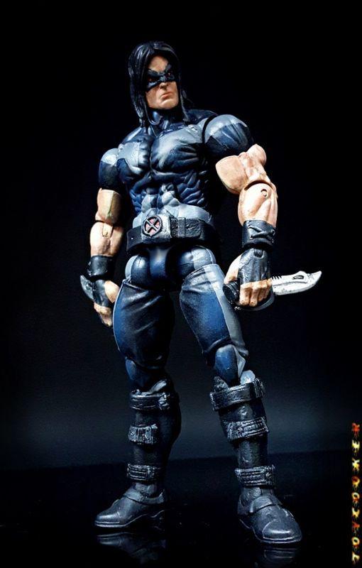 Warpath (Uncanny X-force) (Marvel Legends) Custom Action Figure by toycooker Base figure: Absorbing Man BAF