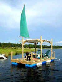 shanty dock raft plans
