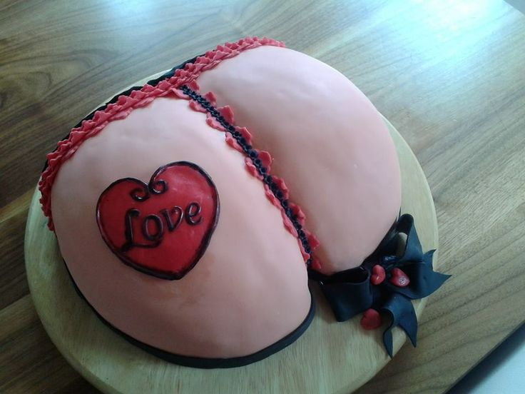 Ass cake! Popo Torte! ;)