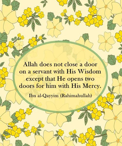 Sayings of Ibn al -Qayyim