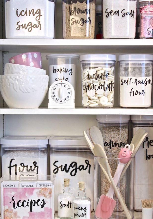 die besten 10 ideen zu speisekammer organisieren auf pinterest kleine speisekammer. Black Bedroom Furniture Sets. Home Design Ideas
