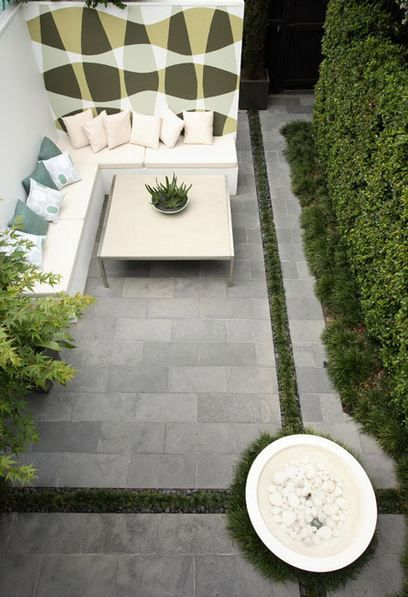Secret Garden Sydney courtyard aerial view Garden Visit: Secret City Hideaway in Australia