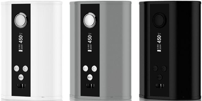Box 200w TC Eleaf iStick – 27,60€ fdp in http://www.vapoplans.com/?p=209