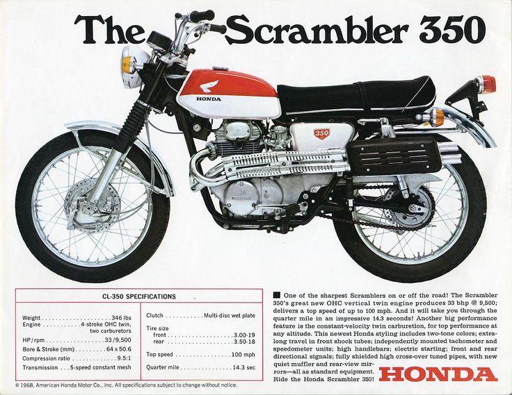 Honda Scrambler 350