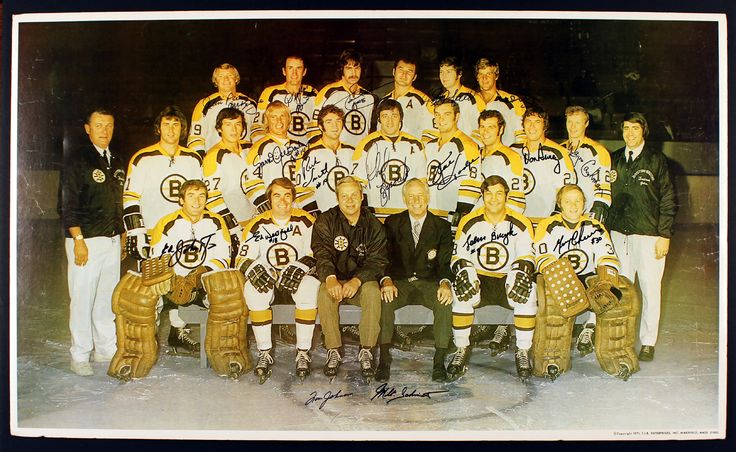 nhl 1971-72 boston bruins team photo - Google Search