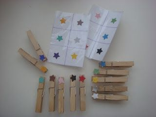 Great clothespin color matching activity
